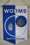 Wimpel LC Worms 1981